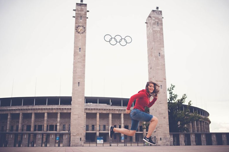 travel::: berlin!! day 3,  olympiastadion!!